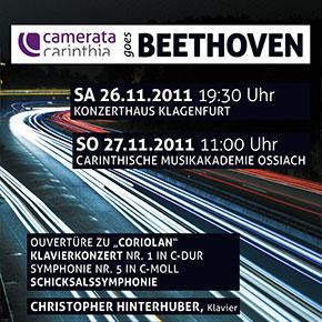 """Kritiken und Fotos zum Konzert """"Camerata goes Beethoven"""""""